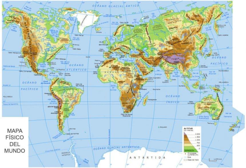 mapamundi topografico