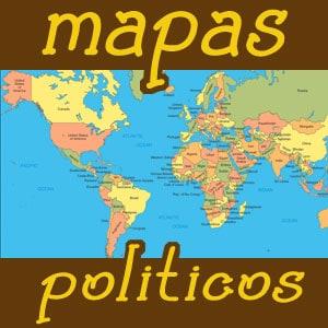mapas de paises del mundo