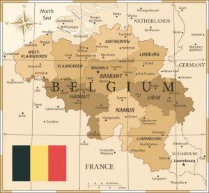 Mapas de Bélgica