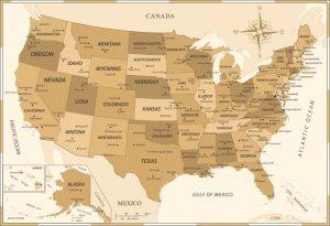 Dónde está situado Estados Unidos