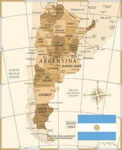 distritos Argentina