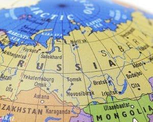 Mapamundi Asia del Norte
