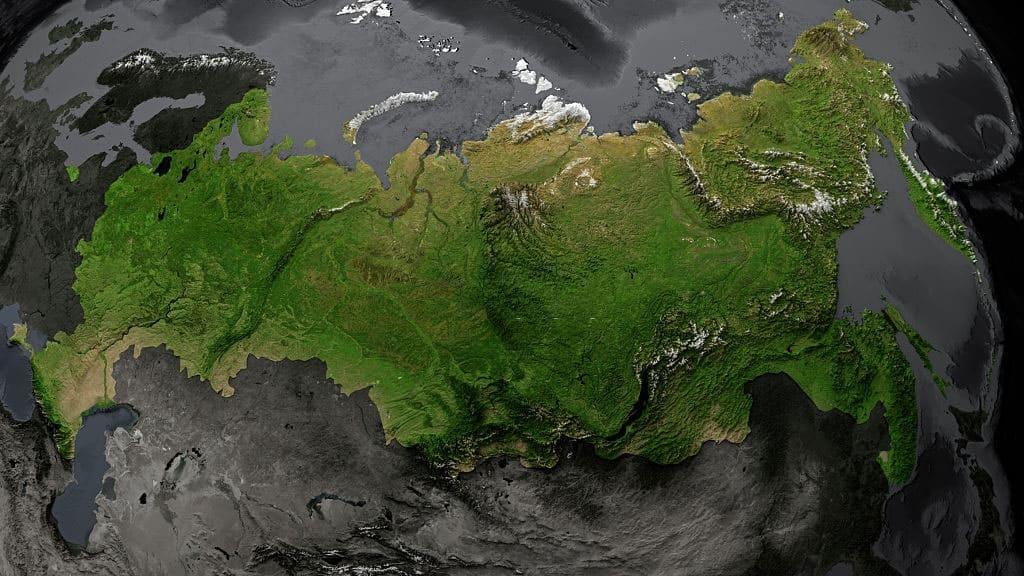 relieve fisico de Asia del Norte