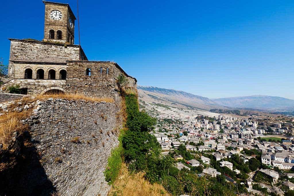 Castillo Gjirokastra Albania