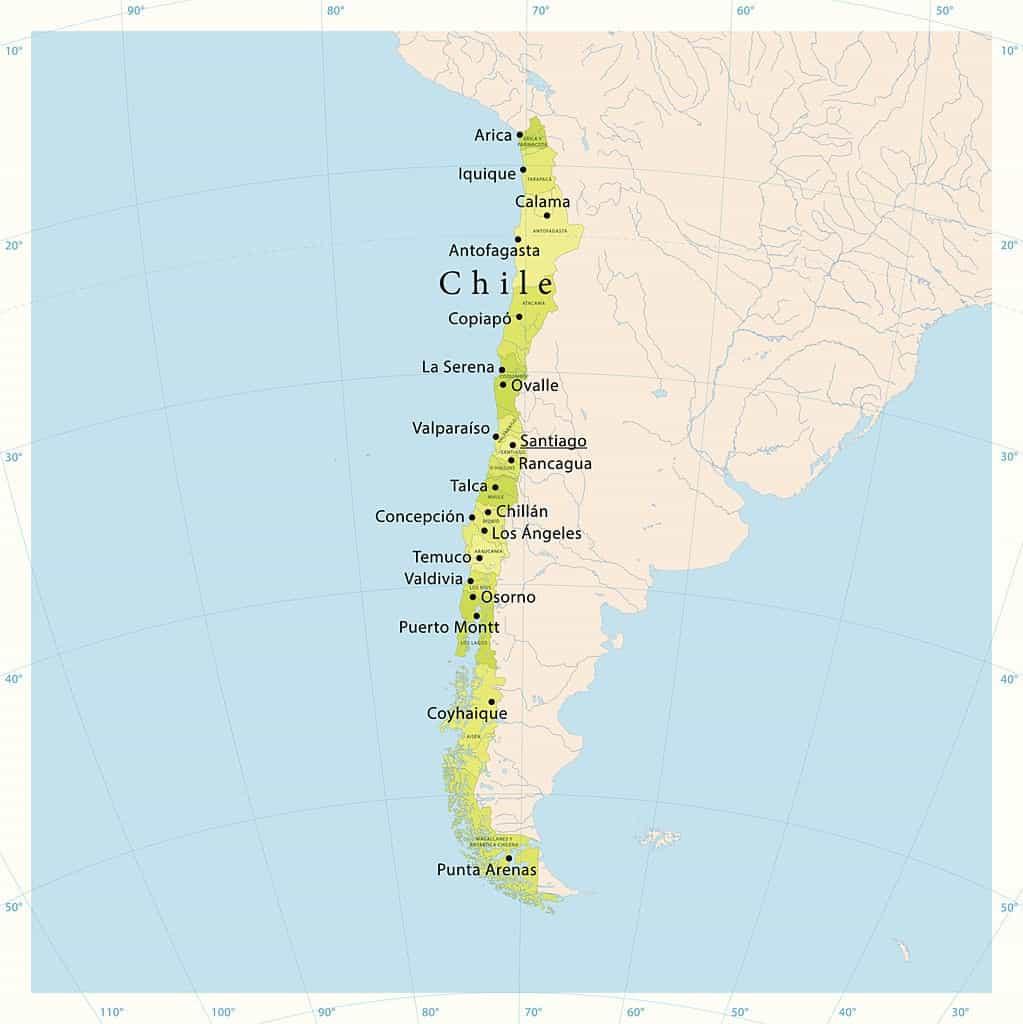 ciudades chilenas mas importantes