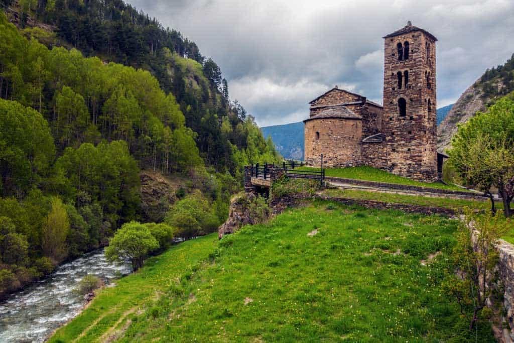 Sant Joan de Caselles Canillo Andorra