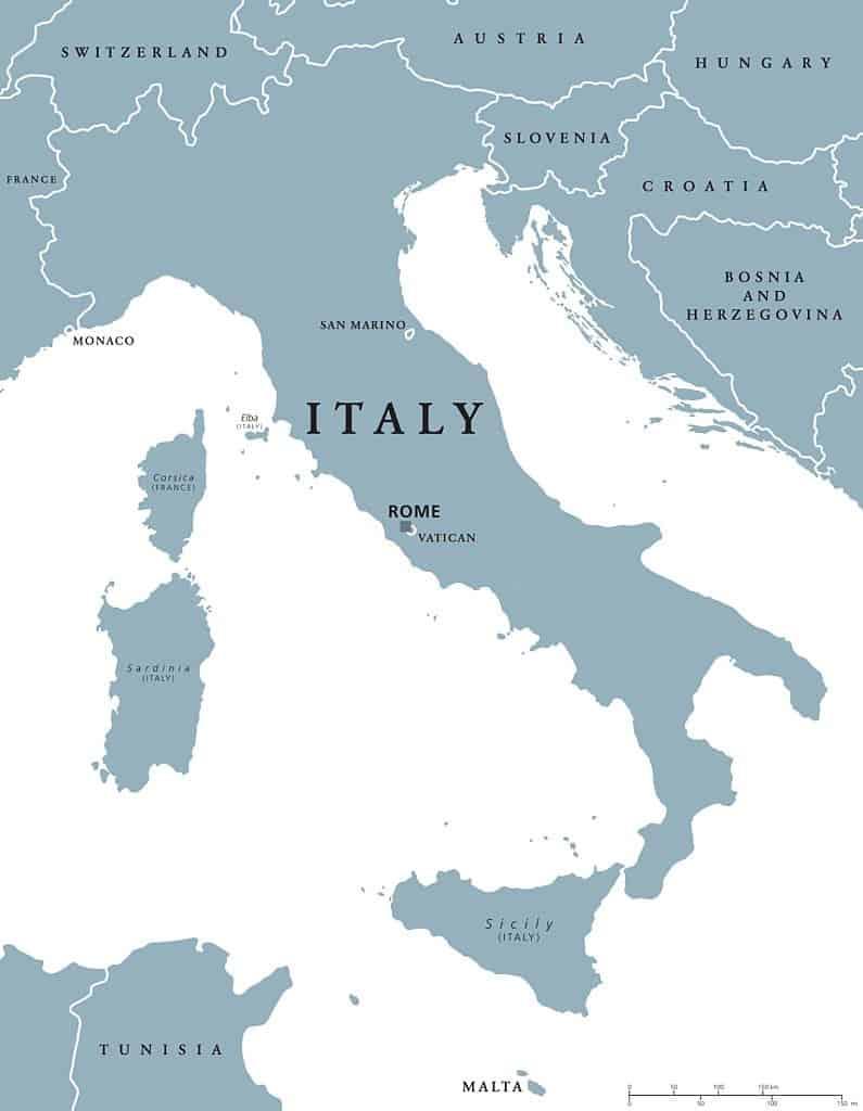 San Marino e Italia