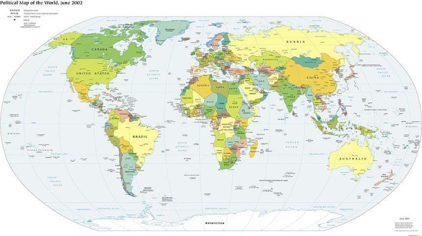 mapamundi que tenga meridianos y paralelos